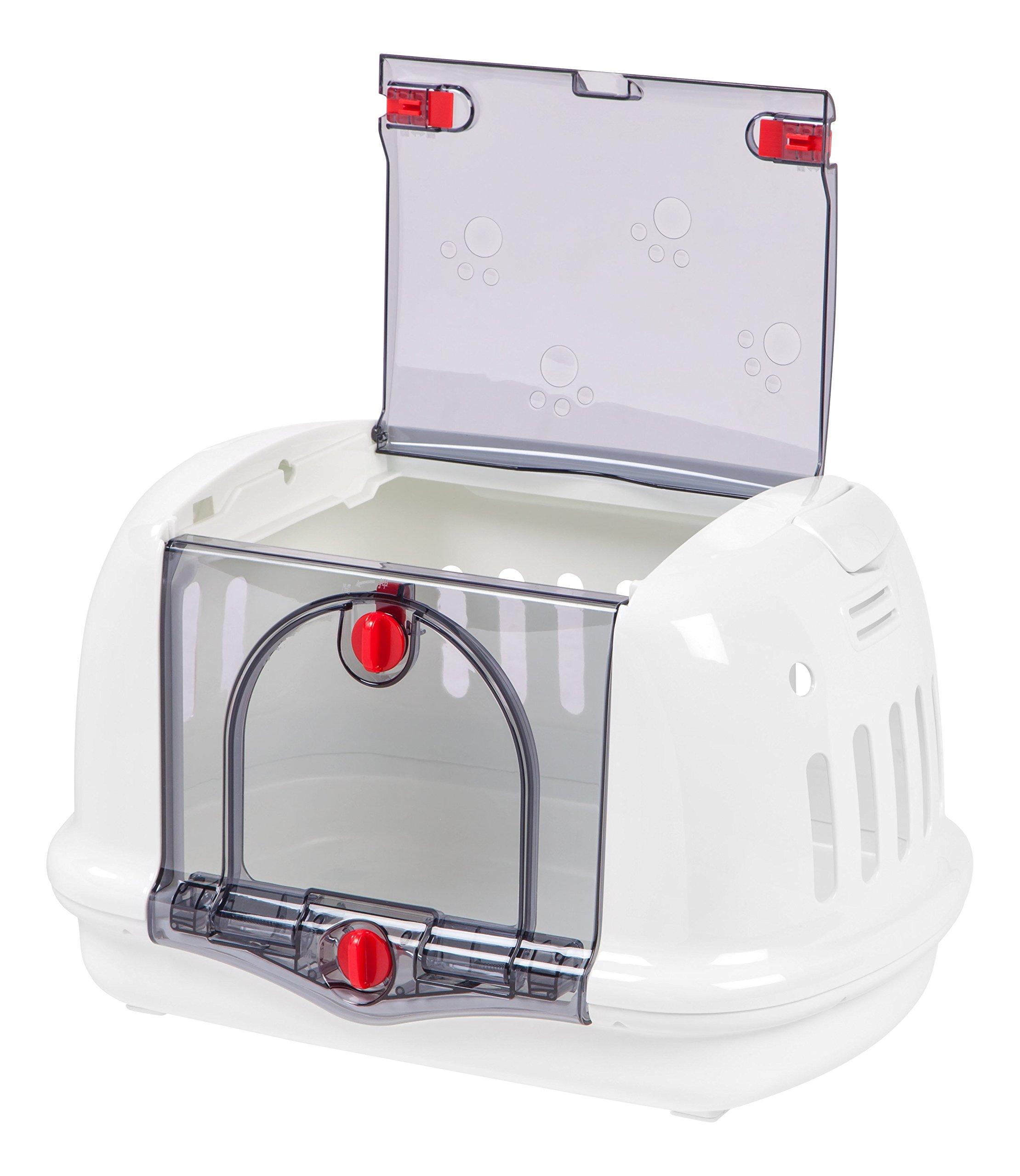 IRIS Small Animal Carrier, White by IRIS USA, Inc. (Image #3)
