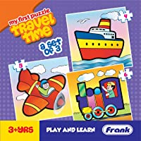 Frank  Travel Time Puzzle For 3 Year Old Kids And Above