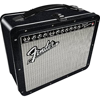 Aquarius Fender Amp Large Gen 2 Tin Storage Fun Box: Toys & Games