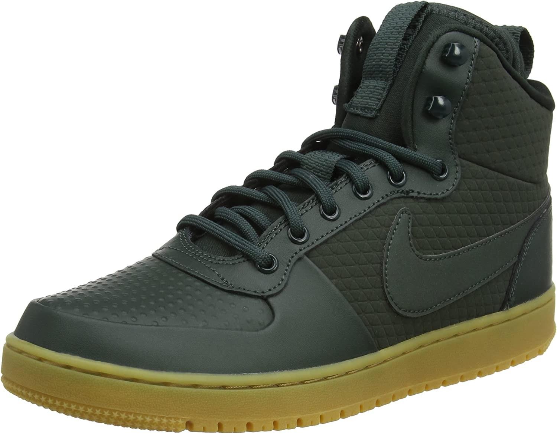 Nike Mens Court Borough Mid Winter Basketball Shoes
