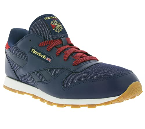 a79f60dbe9578 Reebok Classic Leather DG Navy Leather 3.5 M US Big Kid
