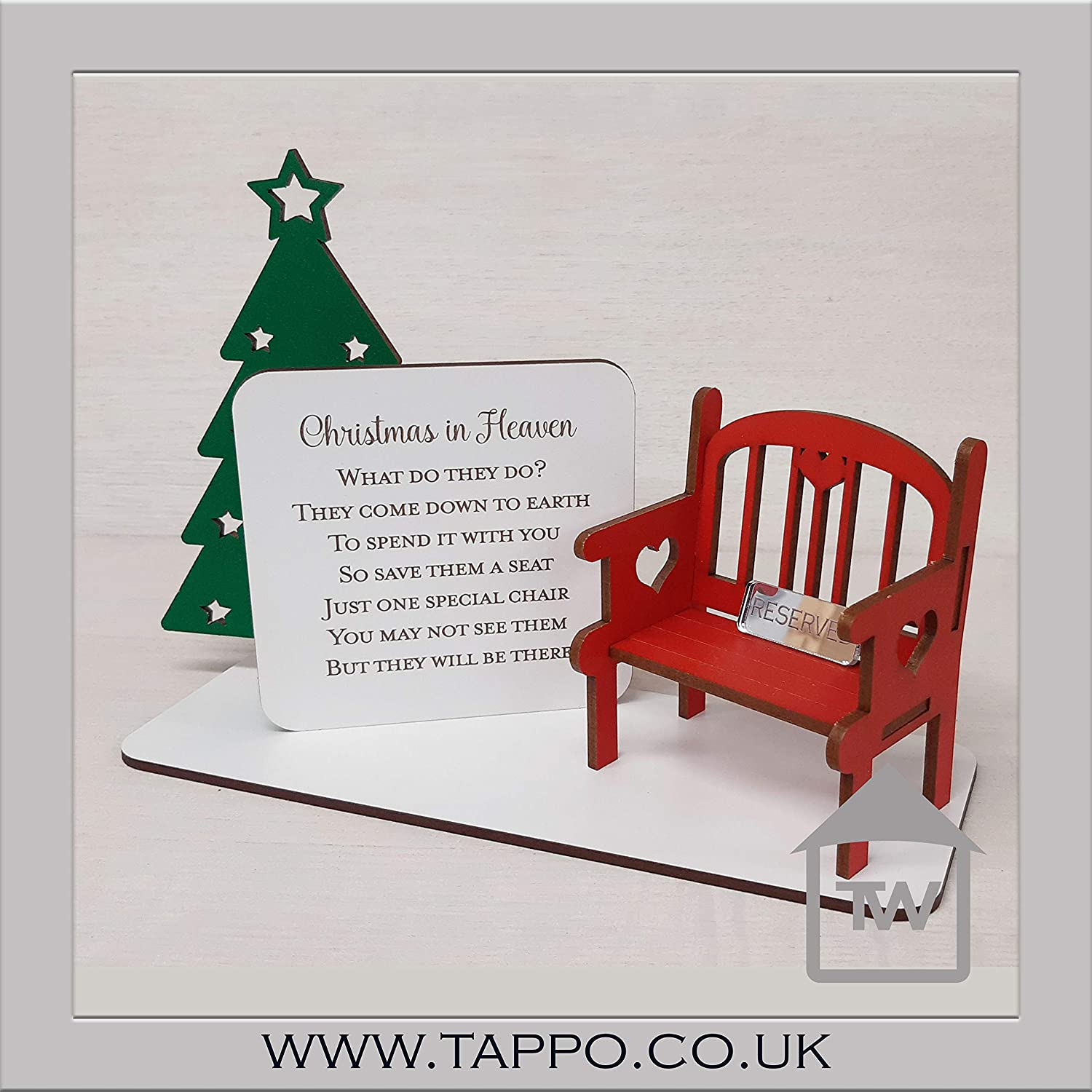 Official Personalised Christmas in Heaven John F Connor