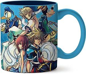 Silver Buffalo Kingdom Hearts Stacked Group Jumbo Ceramic Mug, 20-ounces, Multicolor