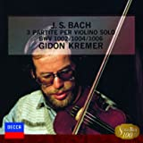 バッハ:無伴奏ヴァイオリンのためのパルティータ第1番&第2番&第3番