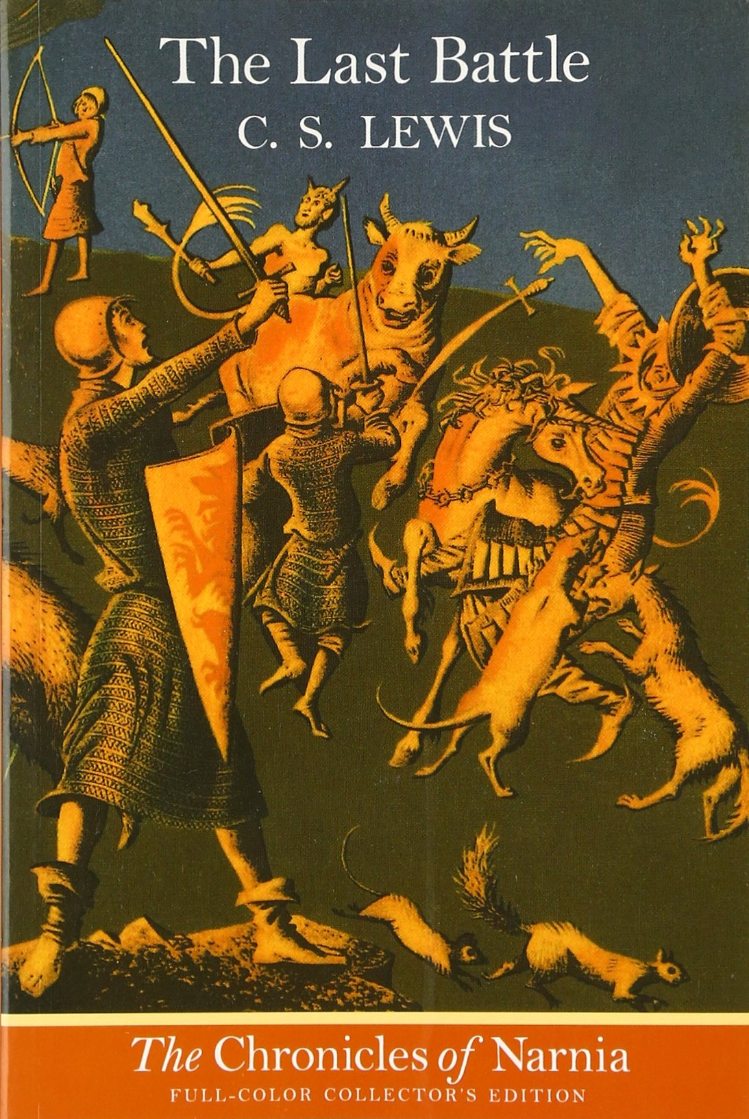 The Last Battle (the Chronicles Of Narnia, Book 7): C S Lewis, Pauline  Baynes: 9780064409414: Amazon: Books