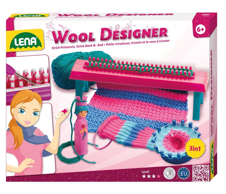 SIMM Spielwaren Lena 42003 - Bastelset Woll-Designer