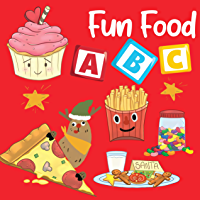 Fun Food ABC: My first Alphabet for Toddler and Preschool with famous food (My First ABC Book 1) (English Edition)