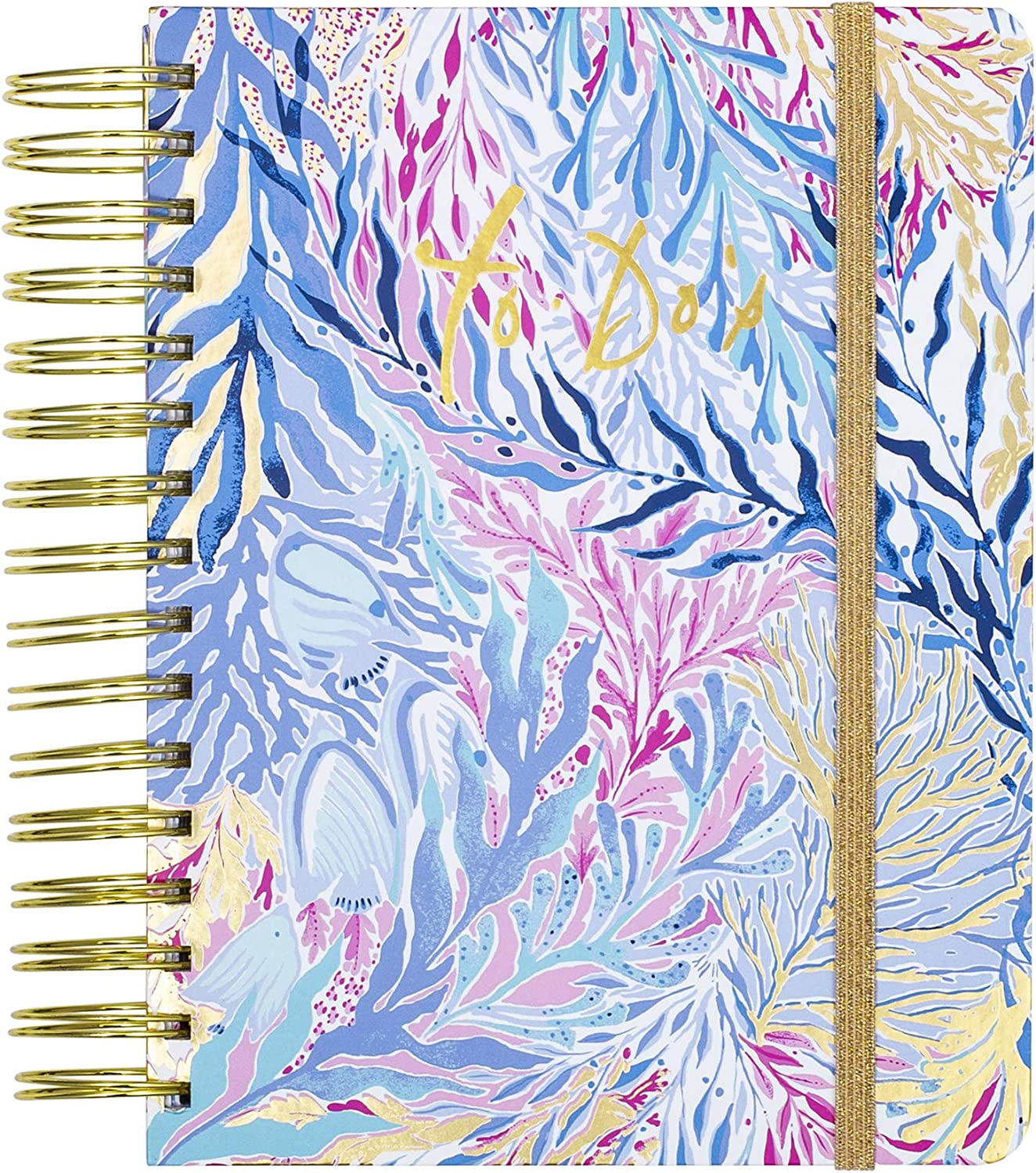 Lilly Pulitzer To Do Planner Kaleidoscope Coral One Size