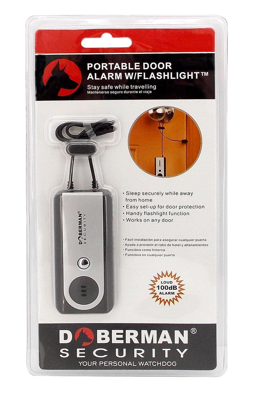 Amazon.com : Doberman Security Portable Door Alarm with ...