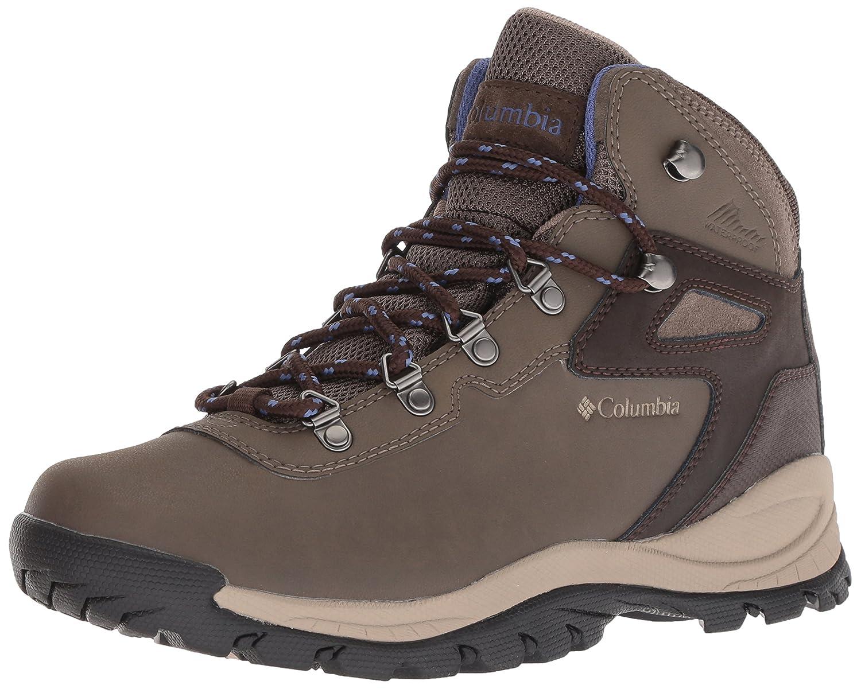 Columbia Women's Newton Ridge Plus Wide Hiking Shoe B0787K1MT5 7 W US|Mud, Eve