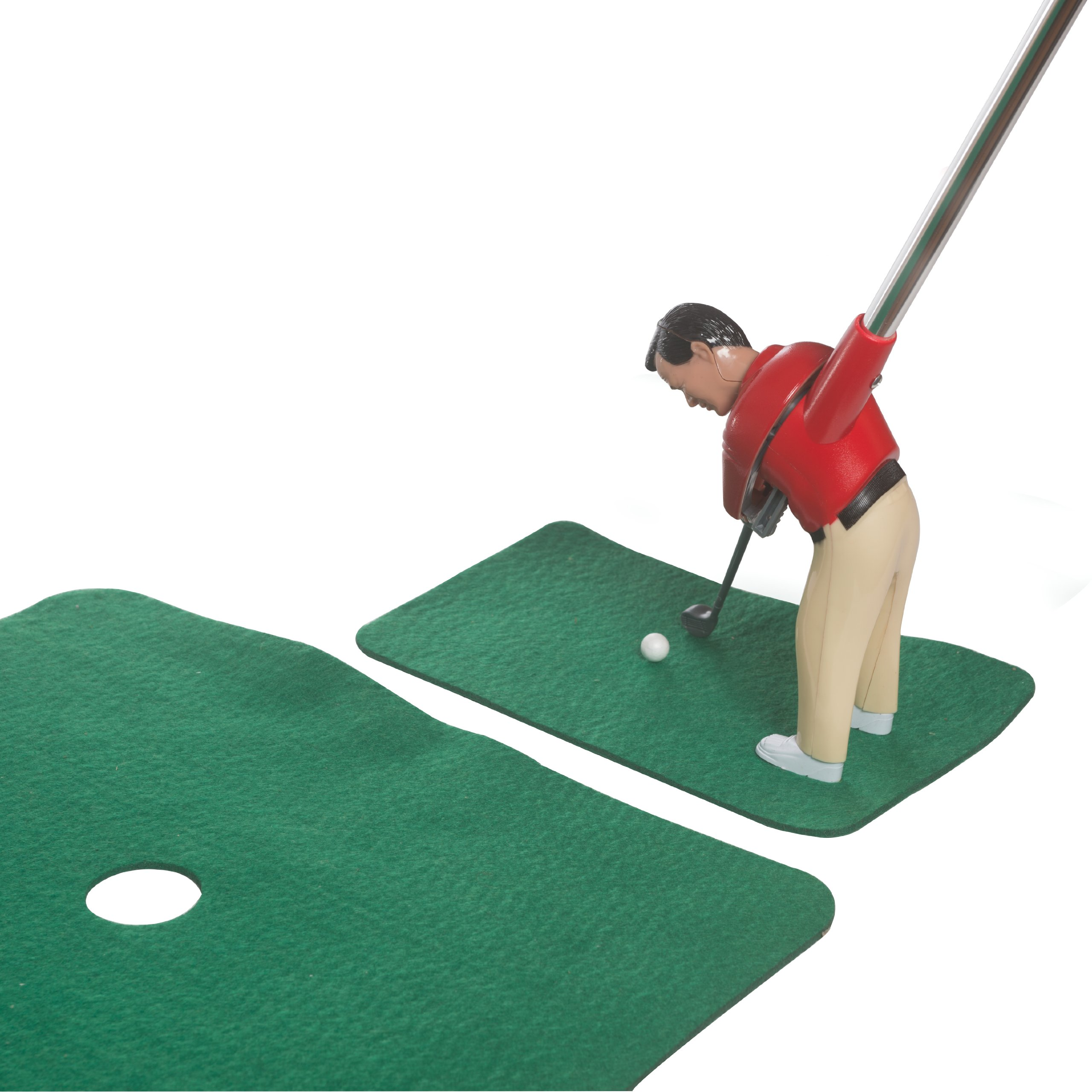 Game Room Golf-- Contents Include Golfer Club, Flag, Tee Box, 12 Balls, Putting Green!!