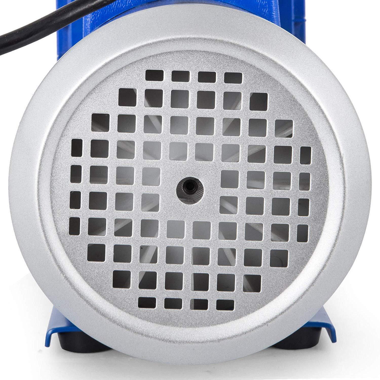 Olibelle 220V//50HZ 4CFM1//3HP Pompe /à Vide Climatisation Voiture Electrique Air Vacuum Pump Syst/èmes de R/éfrig/ération Climatisation