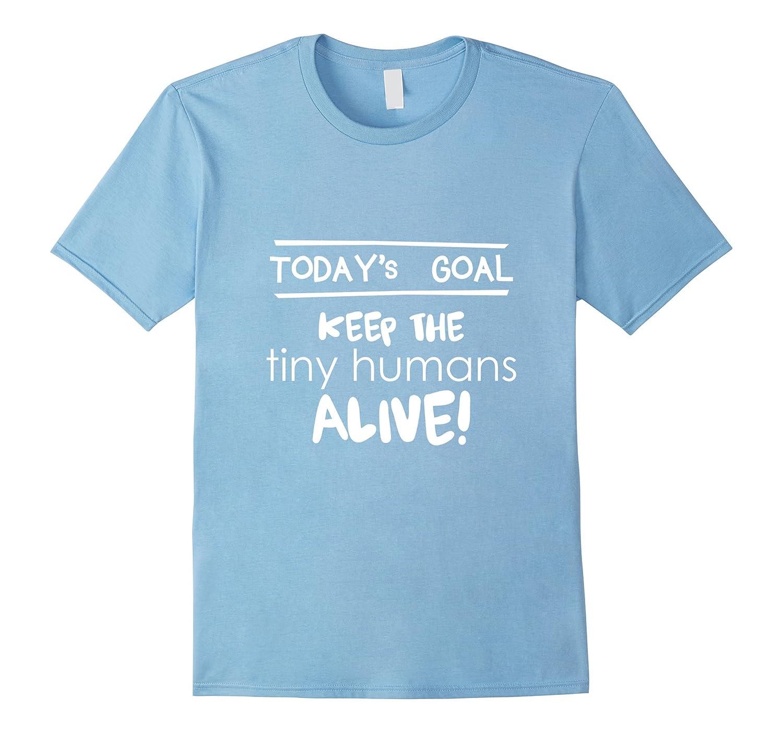 Proud Parents Funny Toddler Tee Shirt - Tiny Humans Alive-CD