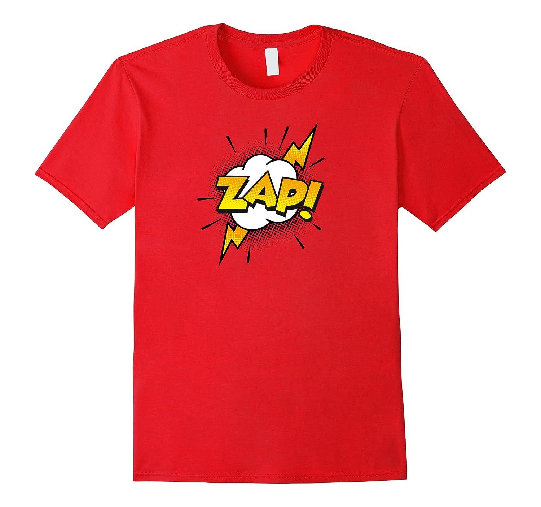 Comic Book Sounds ZAP Funny T-shirt-TJ