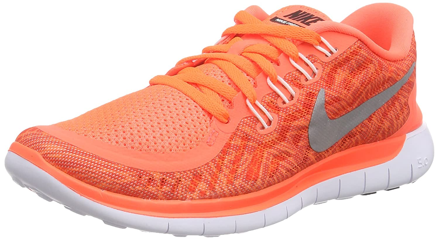 sports shoes de603 2db22 Amazon.com   Nike Free 5.0 Print Sz 10.5 Womens Running Shoes Orange New In  Box   Road Running