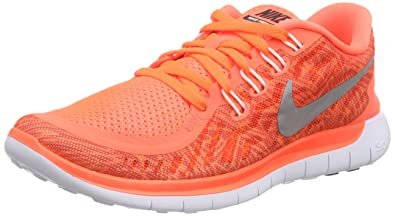 finest selection f50f9 be839 Image Unavailable. Image not available for. Color  Nike Free 5.0 Print Sz 6  Womens Running Shoes Orange ...