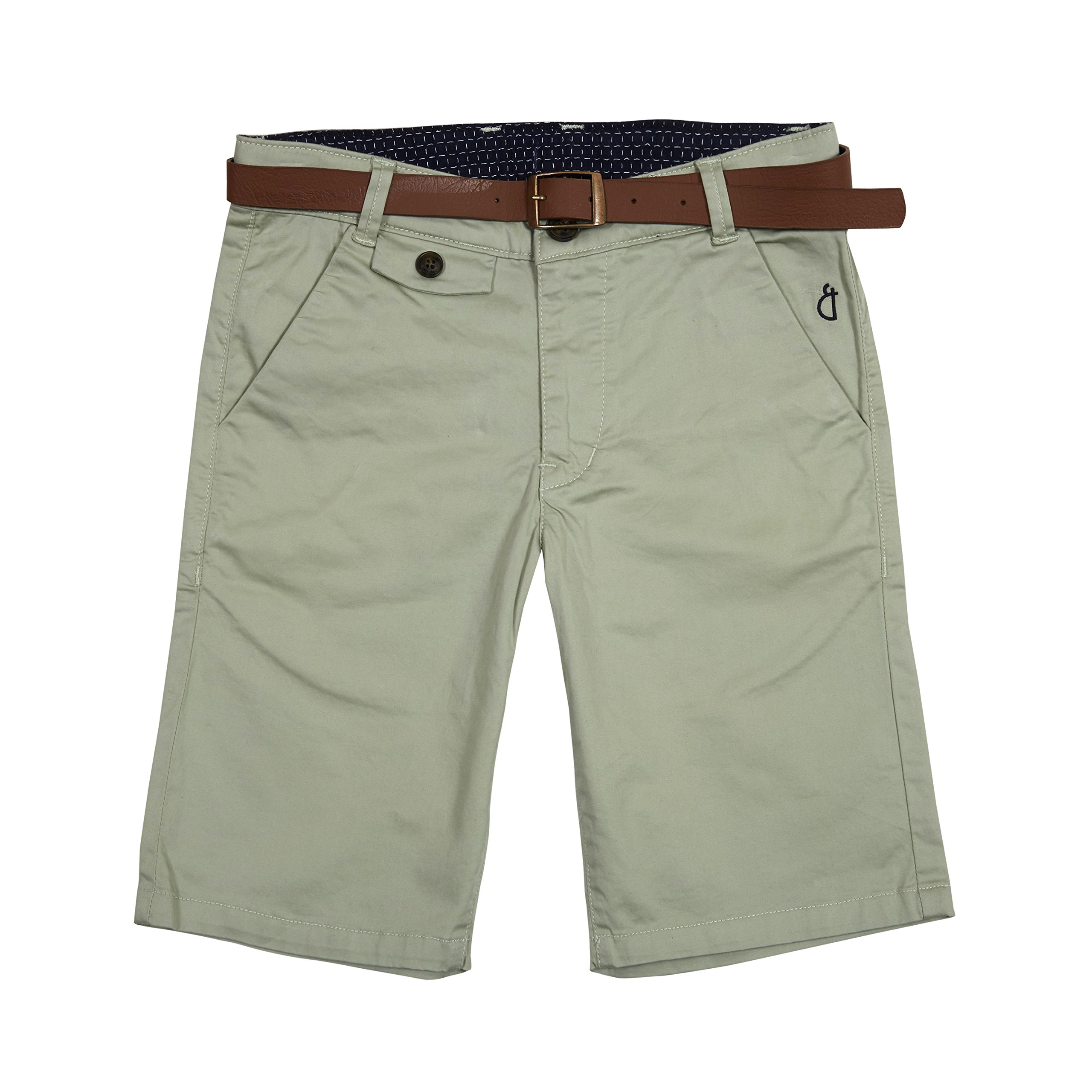 Gini & Jony Little Boys' Shorts 3-4 Years Aqua Glass(C709)