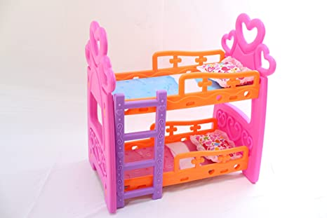 Amazon Com Nbd Toy Baby Crib Set Bunk Bed Toys Games