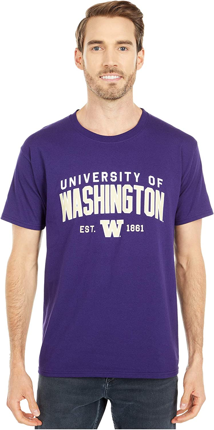 Champion College Mens Washington Huskies Jersey Tee