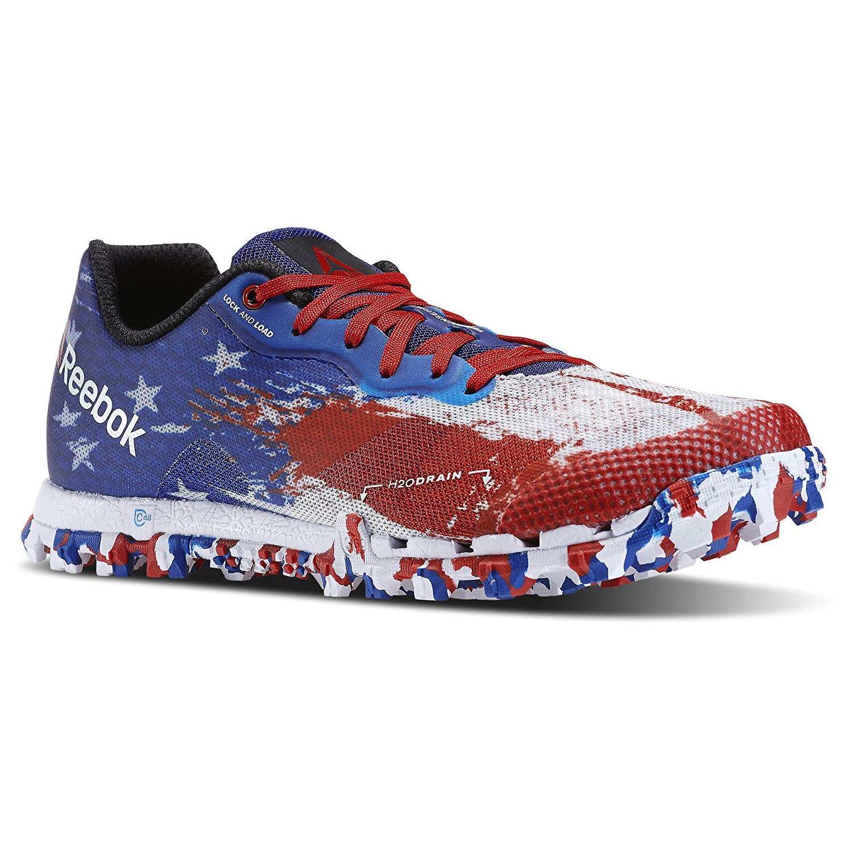 b4e9f9391ea Reebok Women s All Terrain Super 2.0 USA Trail Running Shoe Excellent Red-Dark  Royal-White 10.5 B(M) US  Amazon.in  Shoes   Handbags