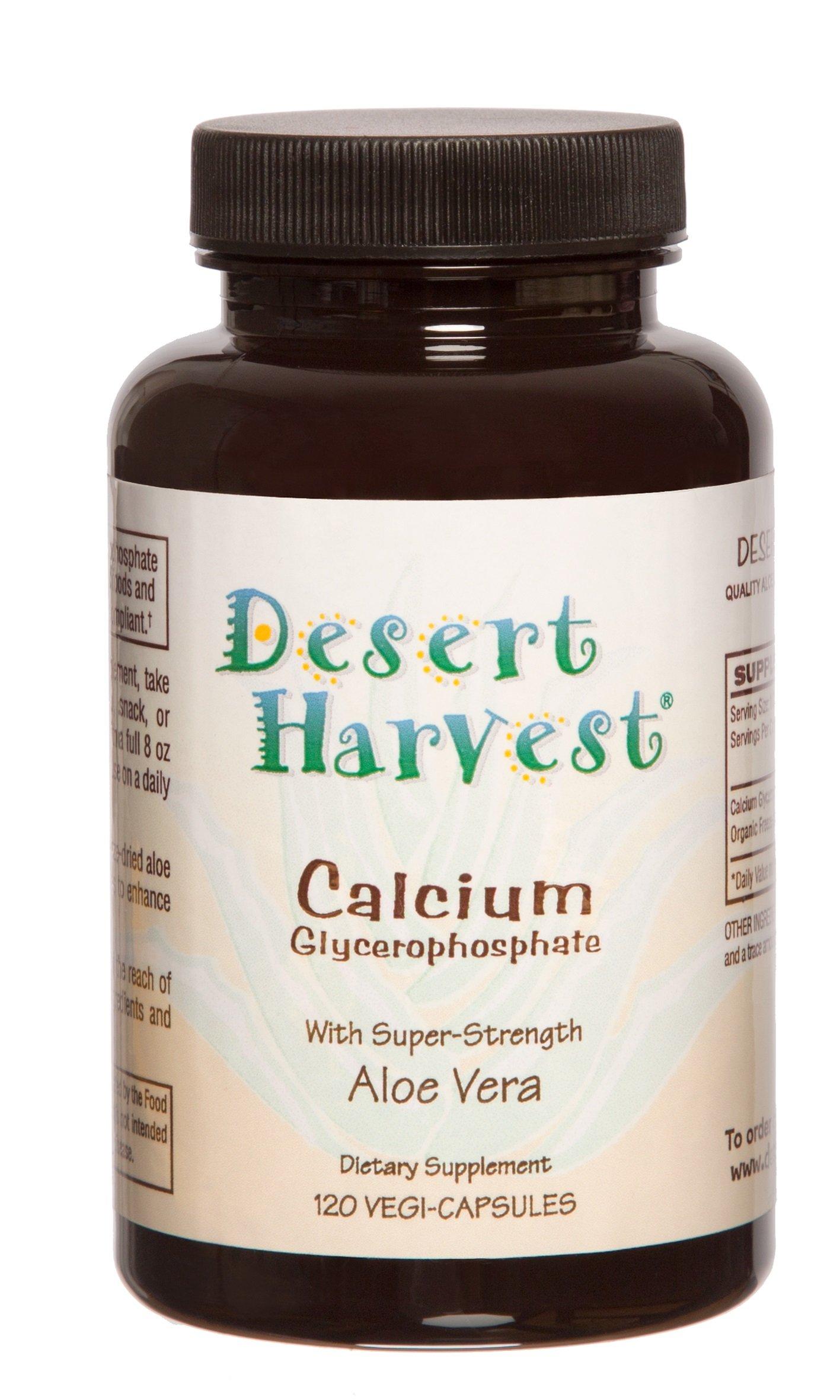 Interstitial Cystitis Starter Kit – Ideal Starter Supplements for IC/BPS. Super-Strength Aloe Vera Capsules + Calcium Glycerophosphate + Quercetin. Bladder Pain Relief, antihistamine, Acid Reducer by Desert Harvest (Image #2)