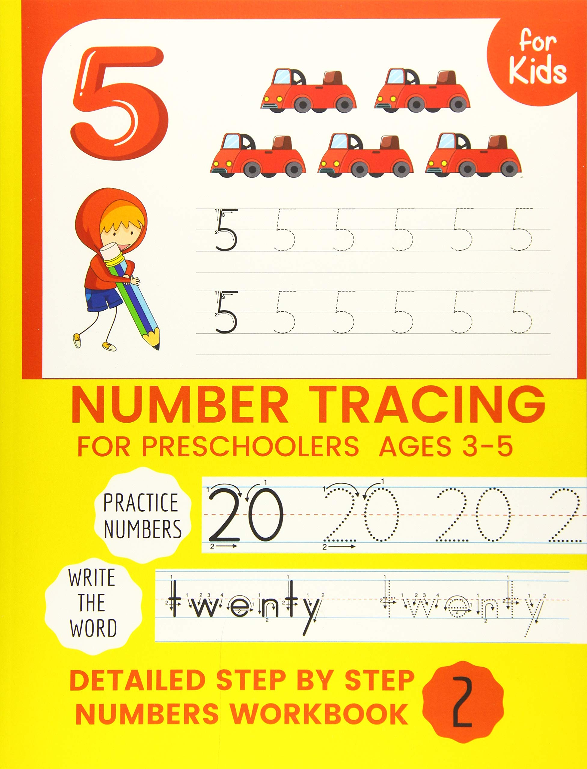 Number Tracing Book for Preschoolers Number tracing books for kids ages 3-5,Number tracing workbook,Number Writing Practice Book,Number Tracing Book Learning the easy Maths for kids