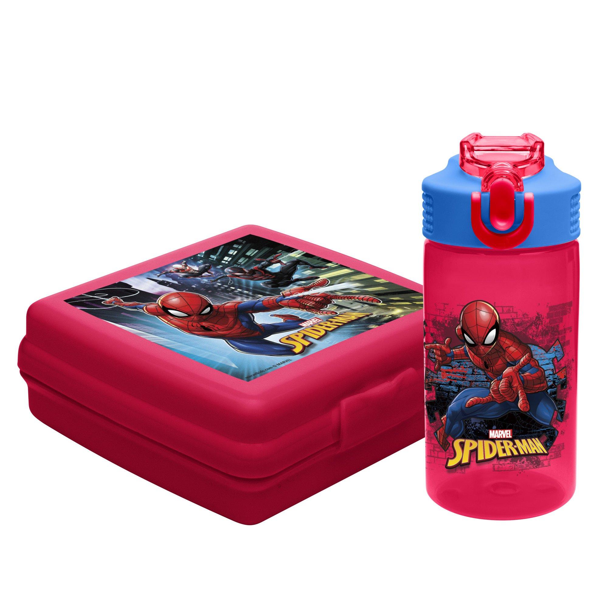 Zak Designs SDNU-9575 Marvel Comics Kid's Lunch Sets
