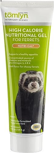 Tomlyn Nutri-Cal Malt-Flavored High-Calorie Nutritional Gel for Ferrets, 4.25oz