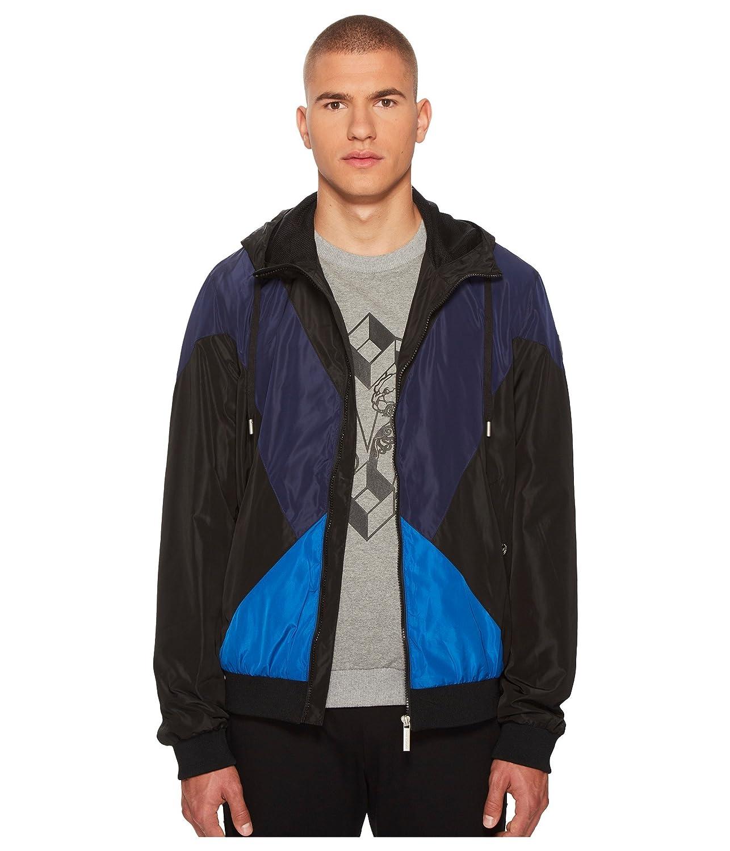 [ヴェルサーチ] メンズ コート Hooded Jacket [並行輸入品] B07DS28Y79 48_(US_38)