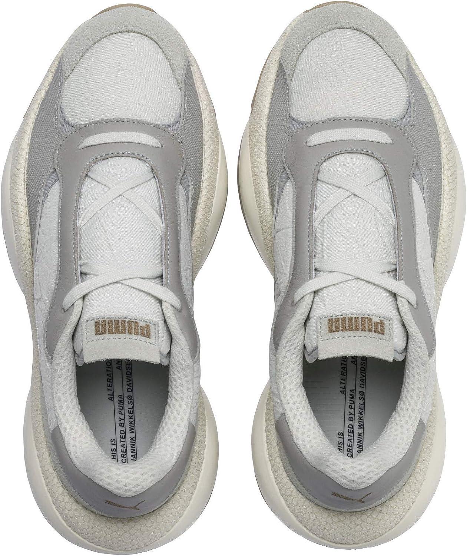 PUMA Man Sneakers Alteration kurve Black-limelig 369794 02 Gris