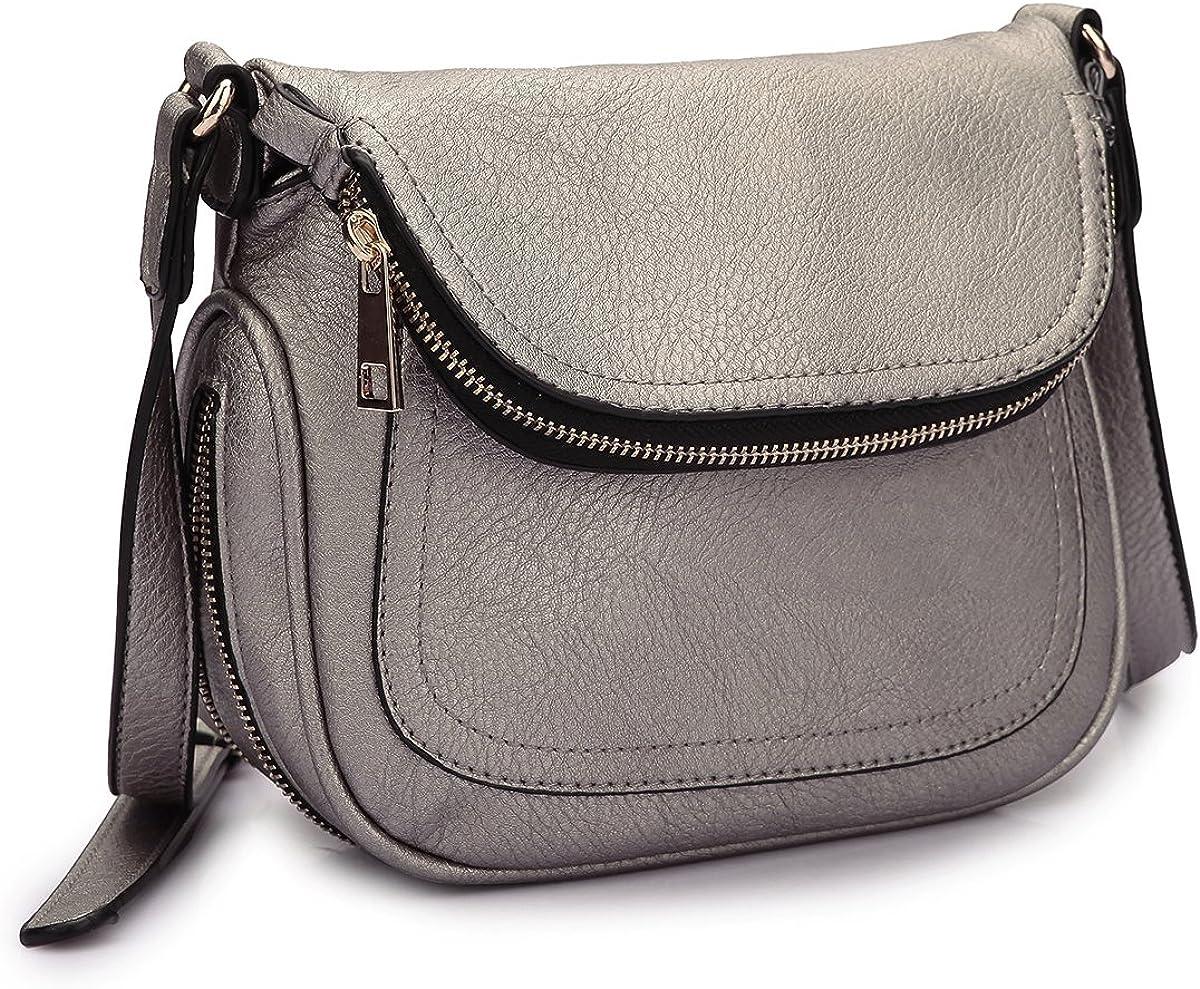 New Womens Classic Small Flap Handbag Crossbody Messenger Shoulder Shopper Bag