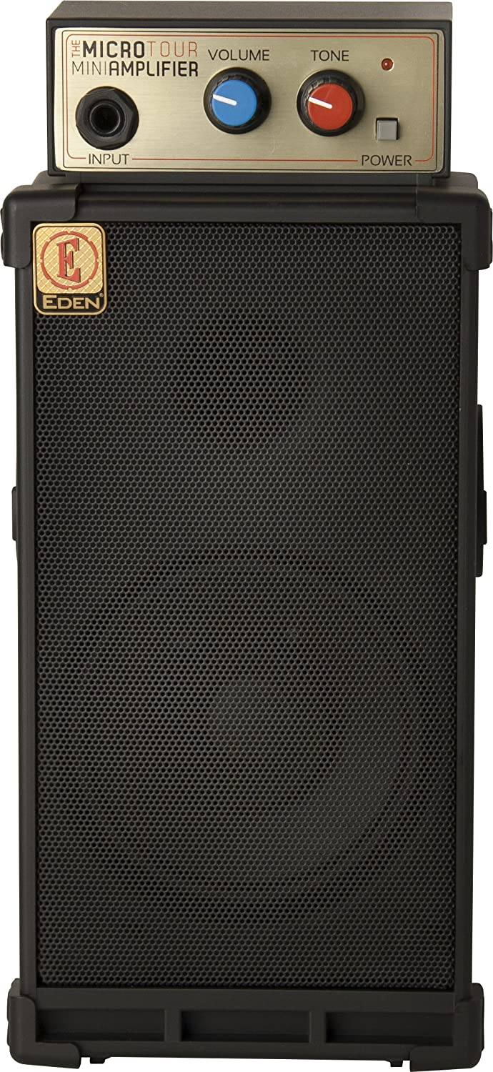 Eden Microtour Portable Mini Bass Amplifier Musical Guitar Or Music Home Stereo Powered Subwoofer Instruments