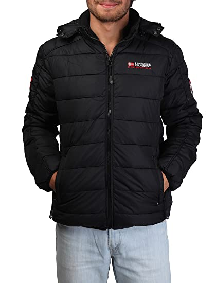 Jacket Geographical Norway Bellissimo man black - man - S