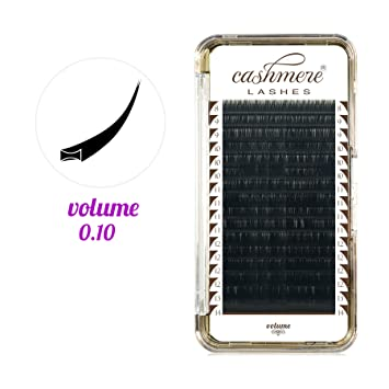 5720e0a03fa CASHMERE LASHES® 0.10 Lightest Volume Lashes Individual Eyelash Extensions  Mix (C MIX)