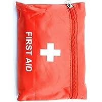 Outdoor Saxx - Camping Erste Hilfe Set | Unterwegs, Reisen, Wandern | Pflaster, Bandage, Binde, Pinzette, Schere, Tupfer, Tasche | 26-teilig