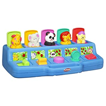 Amazon Com Playskool Play Favorites Busy Poppin Pals Pop Up