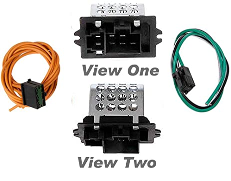 Amazon APDTY 084529 Blower Motor Resistor KitFits 19951997 – Dodge Blower Wiring Harness Kit