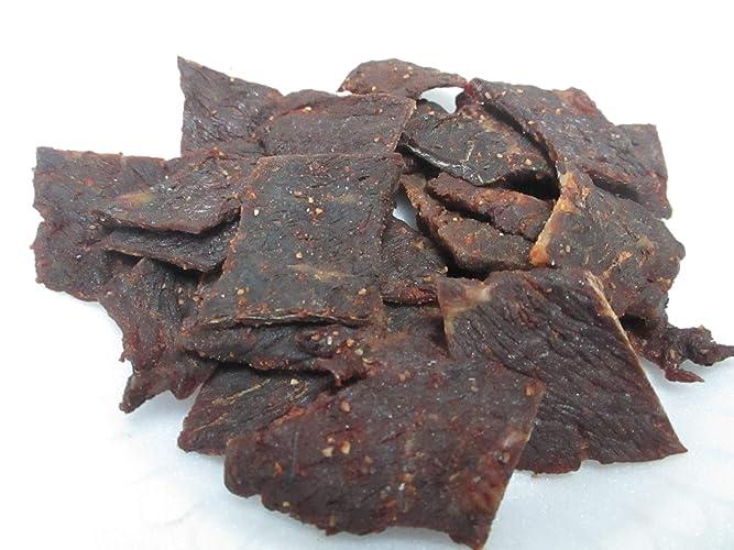 Amazon Com Homemade Beef Jerky Spicy Teriyaki 1 4 Lb