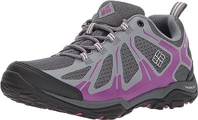 Columbia Peakfreak XCRSN II Xcel Low Outdry, Zapatillas de Senderismo para Mujer, Gris (Graphite, Intense Violet 053), 39 EU: Amazon.es: Zapatos y complementos
