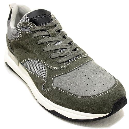 Lumberjack Detroit - Zapatillas deportivas grises con cordones: Amazon.es: Zapatos y complementos