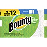 Bounty Select-A-Size Paper Towels, White, 6 Double Rolls (Equal to 12 Regular Rolls)