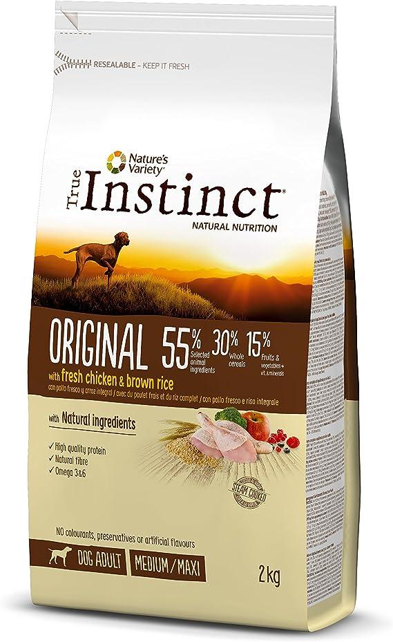 True Instinct Original - Natures Variety - Pienso para Perros Medium Adult con Pollo - 2kg