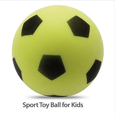 chastep – Pelota de gomaespuma Softball yogaball Balón de tamaño ...