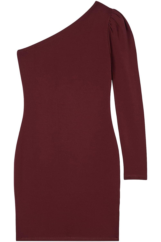 FIND Damen One Shoulder-Kleid: Amazon.de: Bekleidung