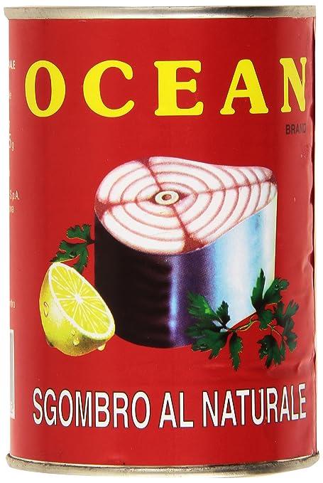 8 opinioni per Ocean Sgombro Mackerel al Naturale- 400 gr