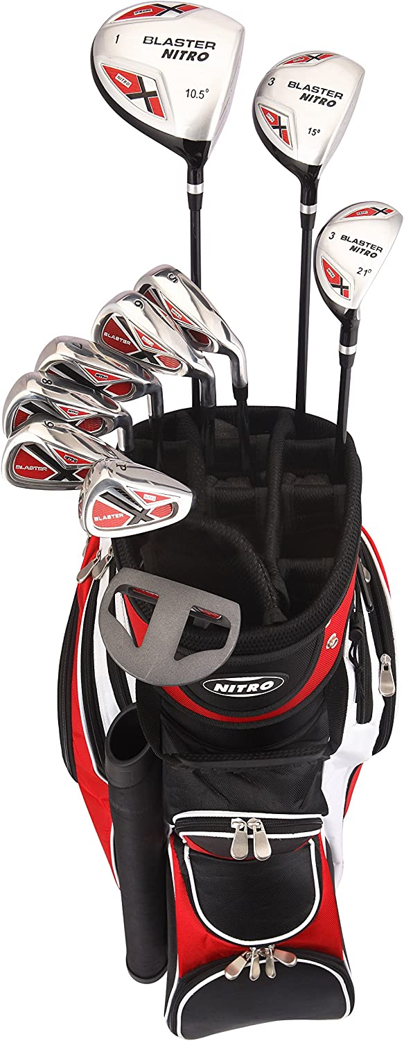 Nitro golf blaster 15 pieces complete set