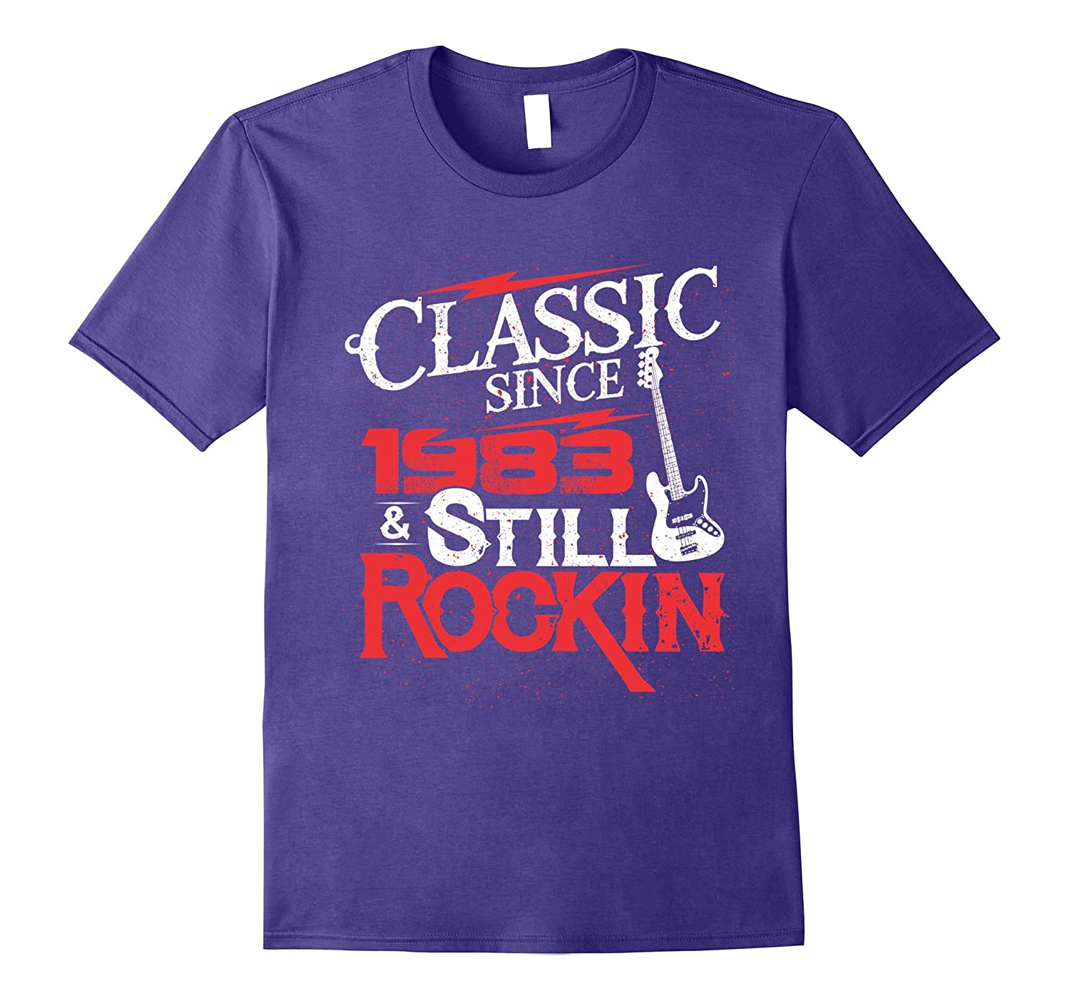 34 Years Old Gifts 34th Birthday Classic Since 1983 T-Shirt-FL