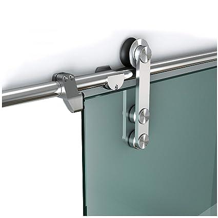 Amazon Diyhd 5ft Stainless Steel Glass Sliding Door Hardware