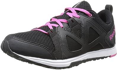 Reebok Women's Train Fast XT Training Shoe, Black/Pink/White, 8.5 M