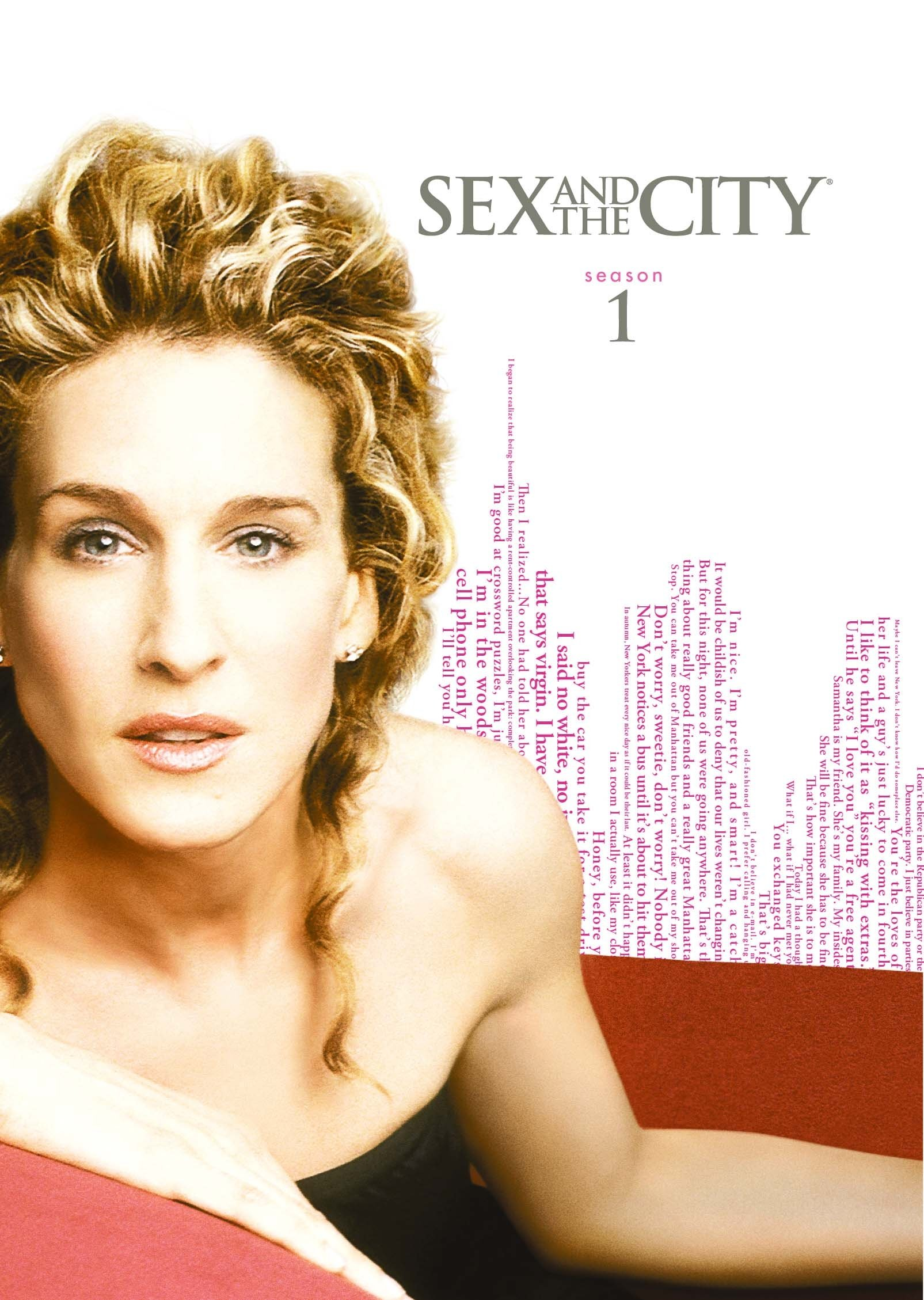 DVD : Sex and the City: The Complete First Season (2 Pack, Dolby, Repackaged, Eco Amaray Case, 2 Disc)